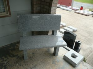 3 Foot Super Gray Park Bench