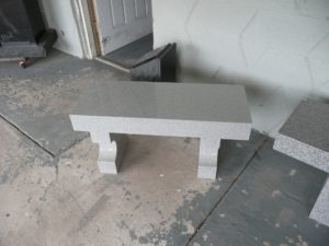 3 Foot Super Gray Flat bench