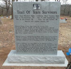 Custom Memorial In Georgia Gray