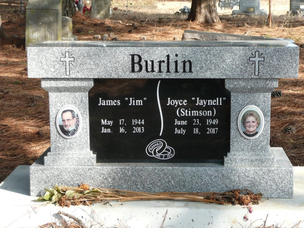 3 Foot Super Gray Double Cremation Bench
