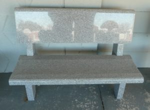 4 Foot Super Gray Park Bench